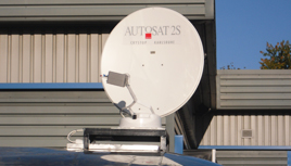 Satellites for motorhomes in Northampton